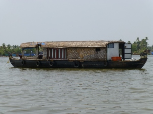 Our home for the night in Alleppey